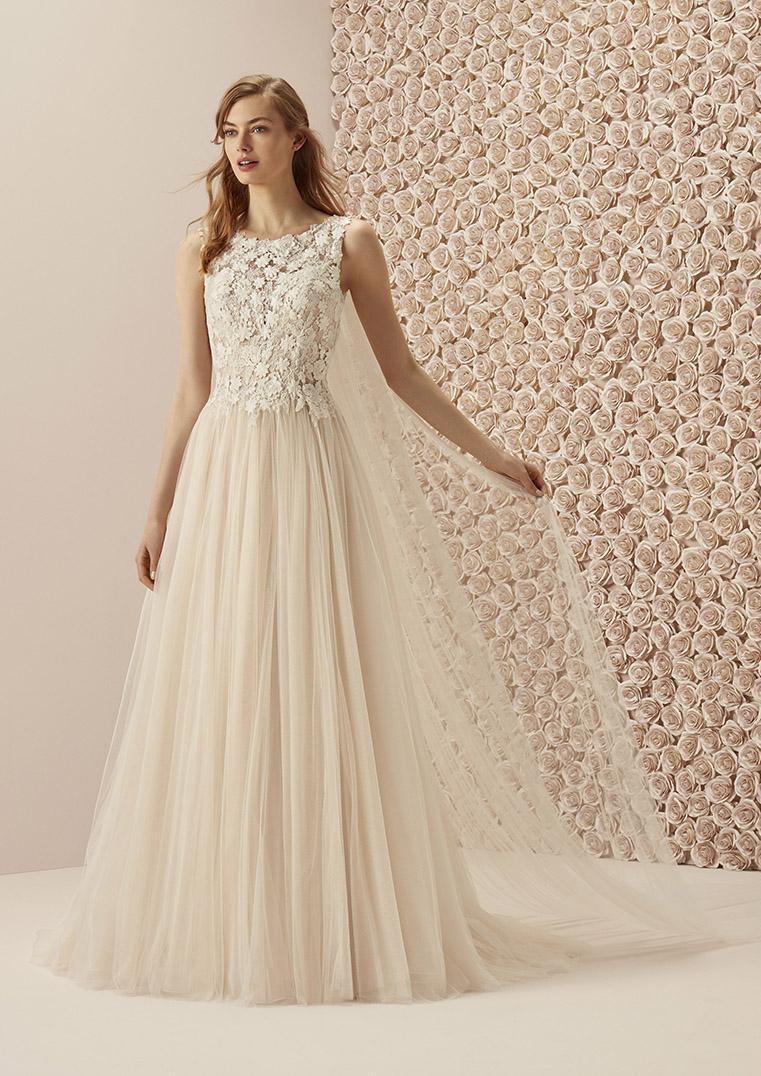 A-Linie Brautkleider in allen Größen und Stilrichtungen